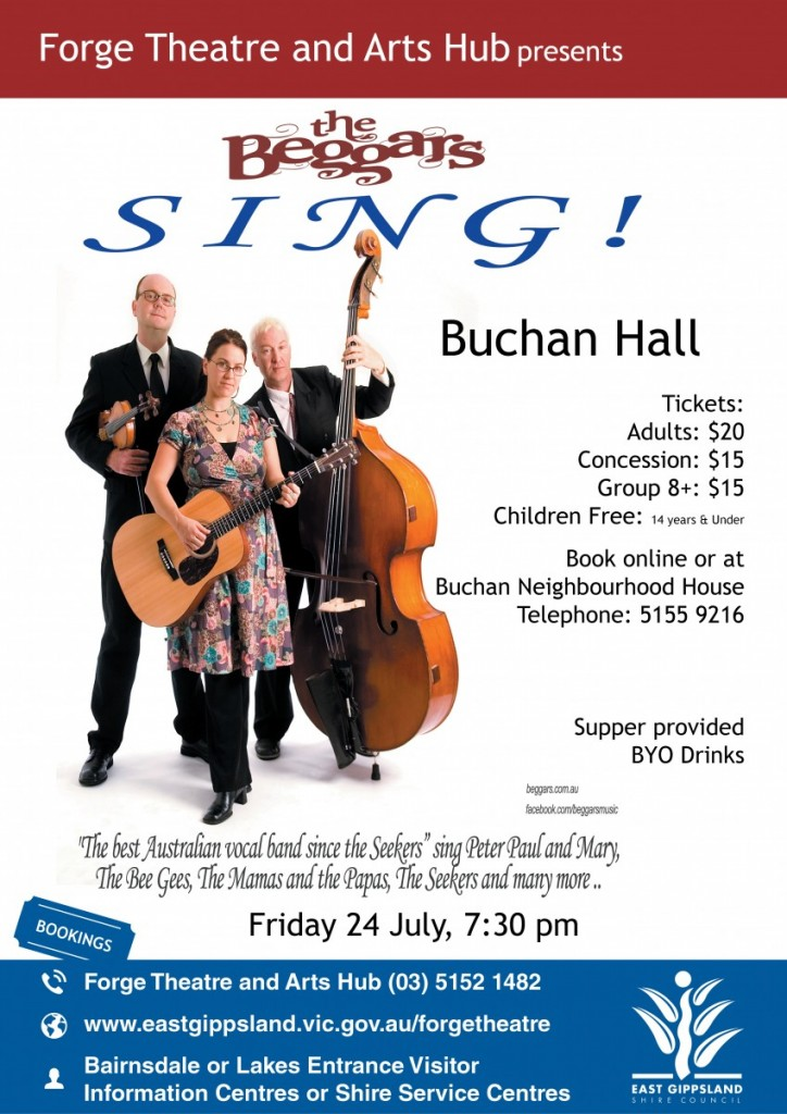 A3 Poster The Beggars BUCHAN