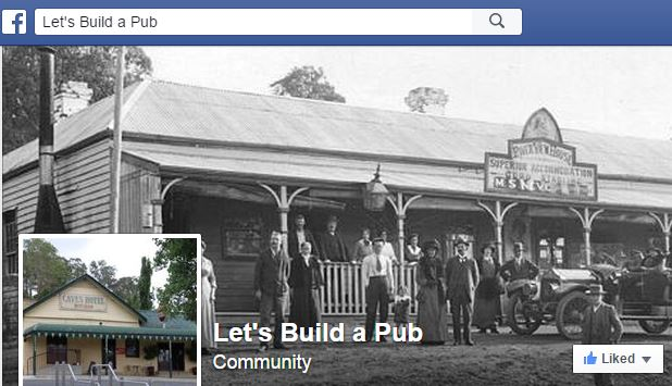 Lets Build A Pub Facebook